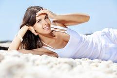 海滩系列夏天 免版税图库摄影