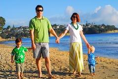 海滩系列早晨年轻人 库存图片