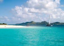 海滩系列风船 库存照片