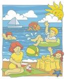 海滩系列 库存图片