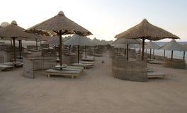 海滩红海 库存照片