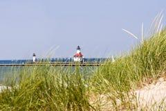 海滩约瑟夫银色st 免版税库存照片