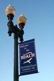 海滩缅因老果树园 库存照片