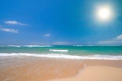 海滩美好的夏天 免版税库存照片