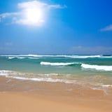 海滩美好的夏天 免版税库存图片