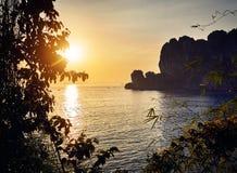 海滩美好的海岛ko发埃泰国 免版税图库摄影