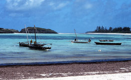 海滩肯尼亚 免版税图库摄影