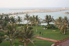 海滩胜地阿拉伯联合酋长国 图库摄影