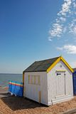海滩英语小屋 库存图片