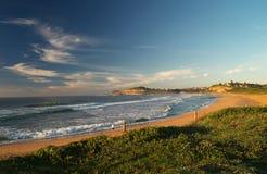海滩莫娜谷 库存图片