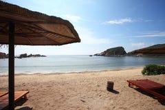 海滩萨尼亚 图库摄影