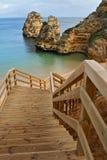 海滩葡萄牙 库存图片