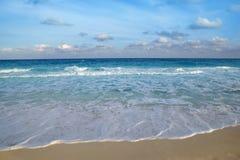 海滩蓝色加勒比海热带绿松石 免版税库存图片