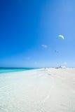 海滩蓝色清楚的天堂热带水 免版税库存照片