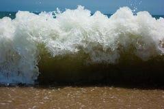 海滩蓝色通知 免版税库存图片