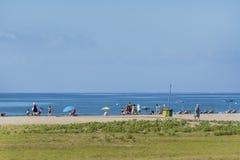 海滩西班牙 图库摄影