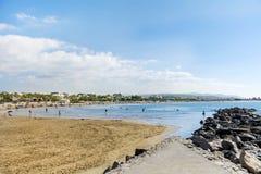 海滩西班牙 免版税库存图片