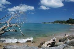 海滩视图 库存图片