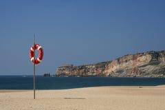 海滩视域 免版税库存图片