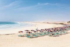 海滩费埃特文图拉岛 免版税库存图片