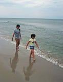 海滩走 图库摄影