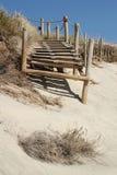 海滩路 库存图片