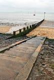 海滩轰击三 库存图片