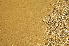海滩轰击小 库存照片