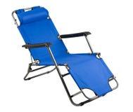 海滩轻便折椅 图库摄影