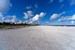 海滩迈阿密美国 免版税库存图片