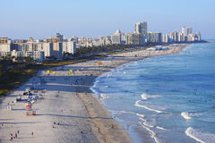 海滩迈阿密 库存图片
