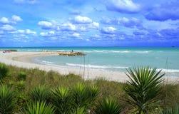 海滩迈阿密 图库摄影