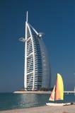 海滩迪拜阿拉伯联合酋长国 图库摄影
