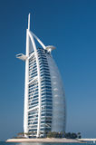 海滩迪拜阿拉伯联合酋长国 免版税库存图片