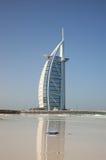 海滩迪拜jumeirah 免版税库存照片