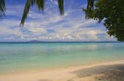 海滩酸值phiphi 库存照片