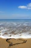海滩重点 库存照片