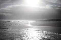 海滩银 库存照片