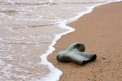 海滩鞋子 库存图片