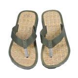 海滩鞋子 免版税库存照片