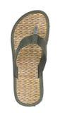 海滩鞋子 免版税图库摄影