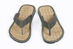 海滩鞋子 库存照片