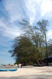 海滩马来西亚场面 库存图片