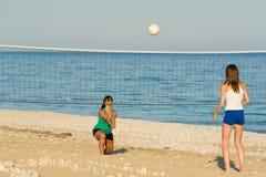 海滩齐射 库存图片