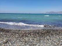 海滩, Kos 库存照片