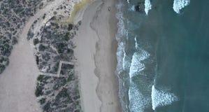 海滩 在西班牙南部 影视素材