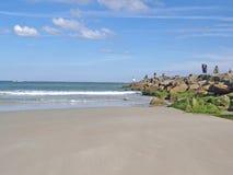 海滩 库存图片