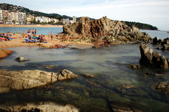 海滩02 免版税库存照片