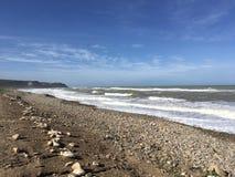 海滩algérie chlef 图库摄影