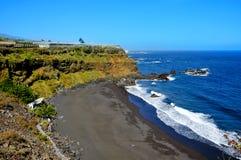 海滩bollullo加那利群岛西班牙tenerife 免版税图库摄影